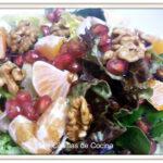 Ensalada de frutos de invierno