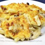 Macarrones con queso gratinados