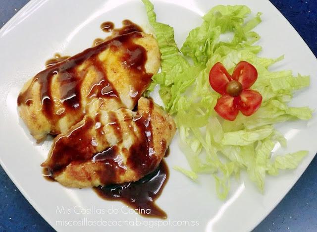 pechugas-pollo-salsa-agridulce