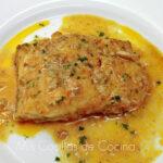 Bacalao fresco con salsa de limón