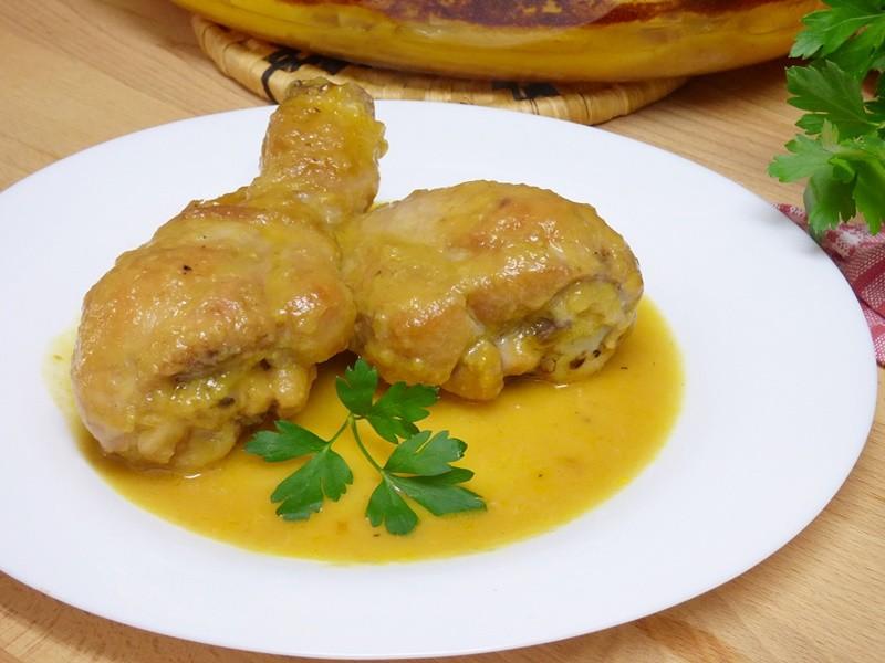 facil receta de pollo a la naranja