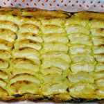 Tarta de hojaldre y manzana fácil