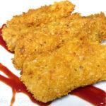 Filetes de pescado crujientes