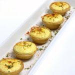 Tartaletas con Soufflé de Queso