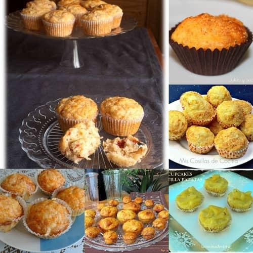 6 Recetas de Magdalenas o Muffins salados