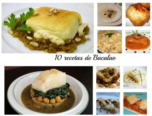 10 Recetas de Bacalao