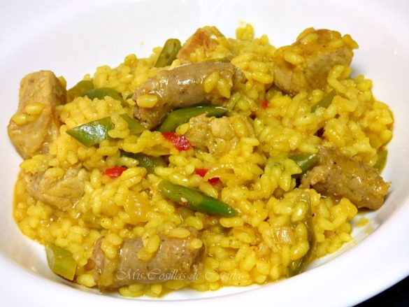 arroz-con-salchichas-verduras