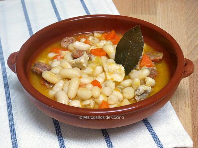 Jud as con verduras chorizo y magro de cerdo mis cosillas de cocina - Judias con chorizo y patatas ...