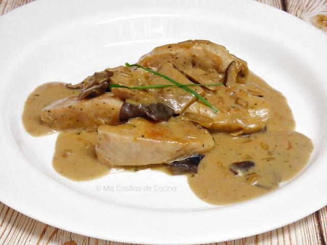 Cocinar con lomo de pechuga de pavo