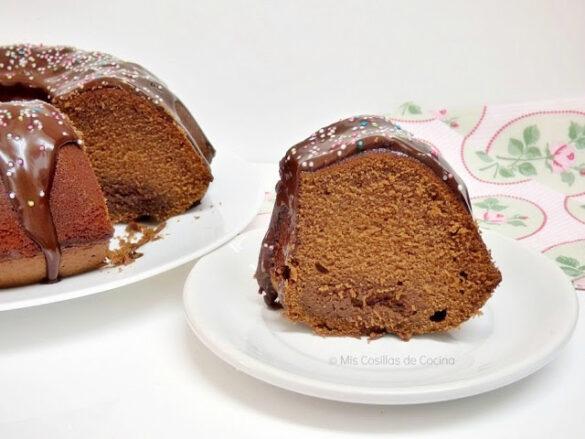 Bundt Cake de Cola Cao