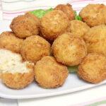 Croquetas de arroz y merluza
