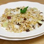 Ensalada de quinoa y arroz integral con frutos secos