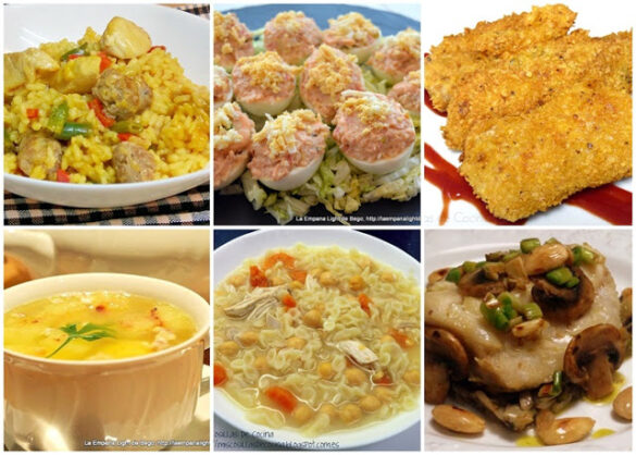 Sugerencias Comidas y Cenas