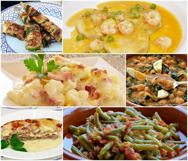 sugerencias comidas cenas 3 mis cosillas de cocina
