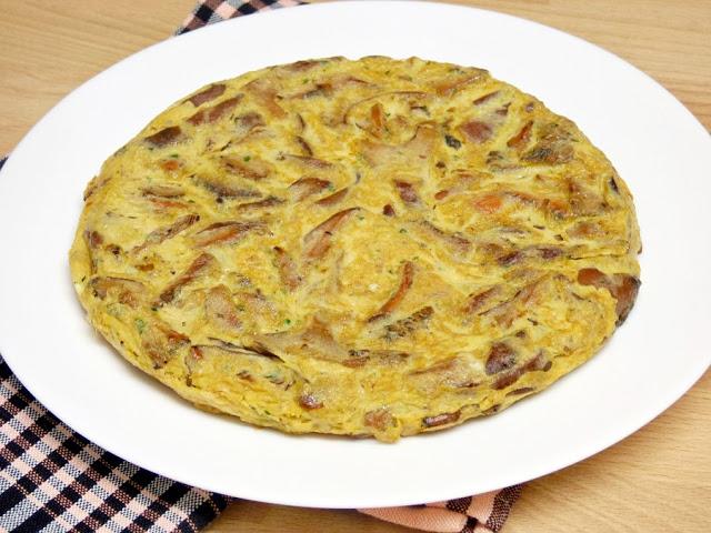Tortilla de Níscalos (Rovellons)