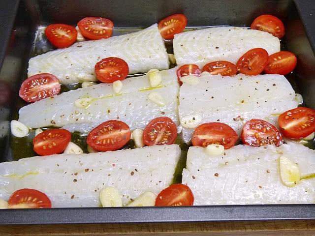 preparación halibut al horno
