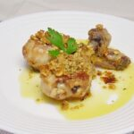 Muslitos de pollo asados con frutos secos