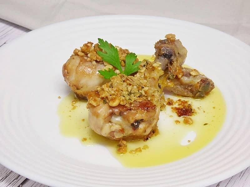 Muslitos de pollo asados con frutos secos mis cosillas - Muslitos de pollo ...