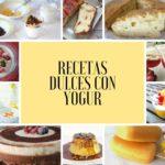 Recetas dulces con yogur