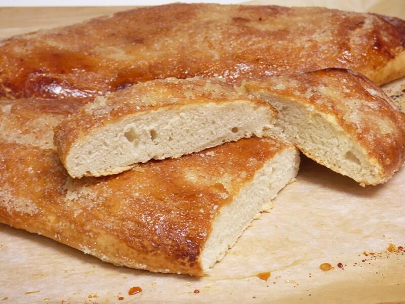 Coca de forner o Coca de pan - Mis cosillas de Cocina