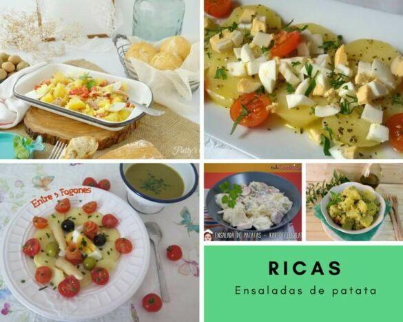 Ensaladas de patata