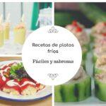 Recetas frías y fáciles para el verano