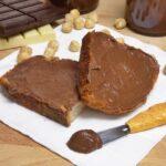 Crema de cacao con avellanas casera