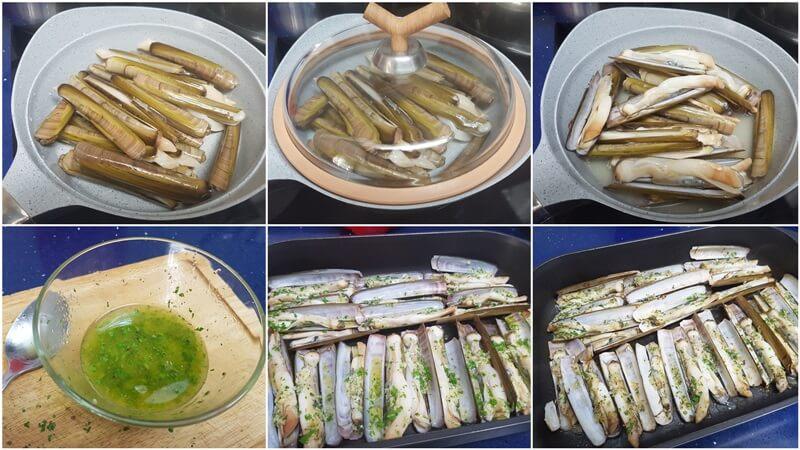 Navajas Al Horno Fáciles De Preparar Mis Cosillas De Cocina