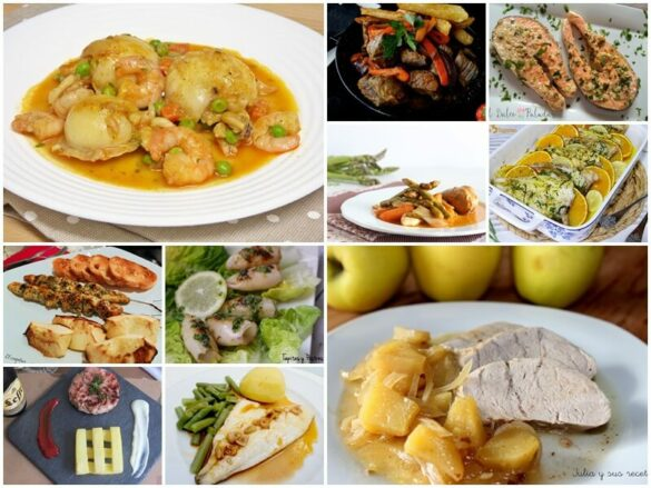 Recetas ligeras de carne y Pescado