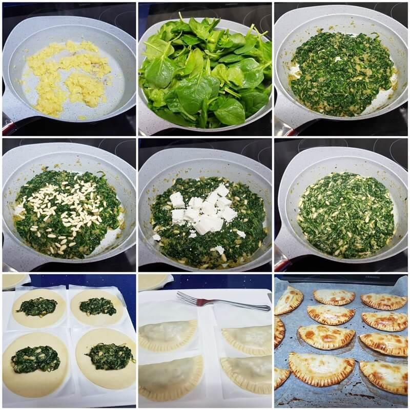 Empanadillas De Espinacas Y Queso De Cabra Mis Cosillas De Cocina