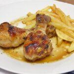 Jamoncitos de pollo con miel y soja