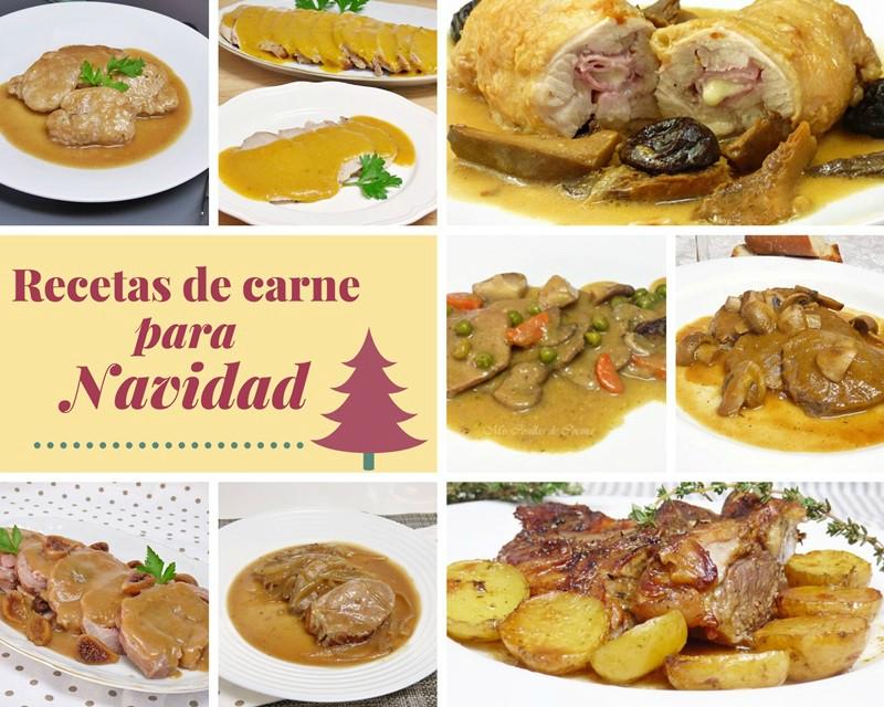 recetas de carne para navidad