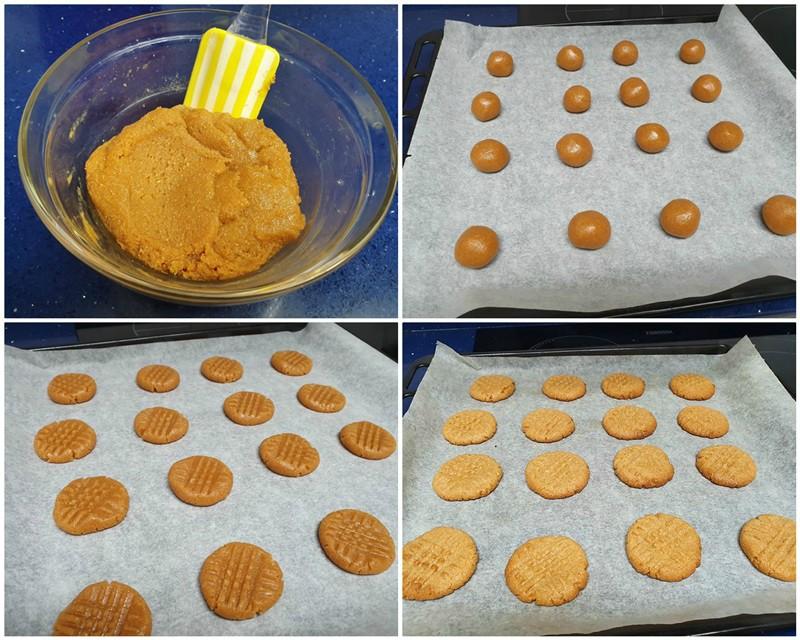 paso- galletas de crema de cacahuete