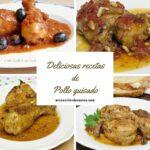 Recetas de pollo guisado