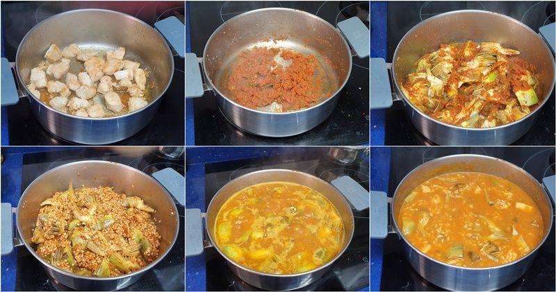 paso-arroz-pollo-alcachofas