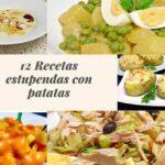 12 recetas estupendas con patatas