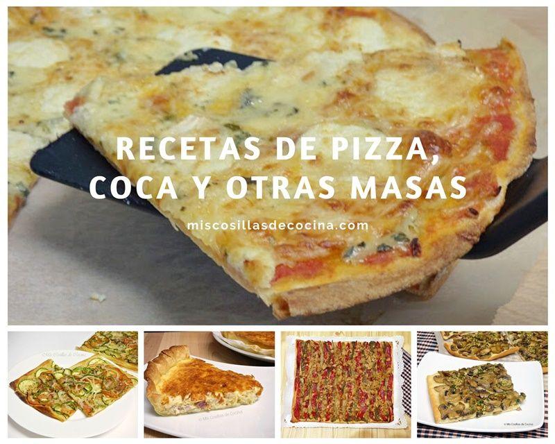 Recetas de pizza, coca y otras masas