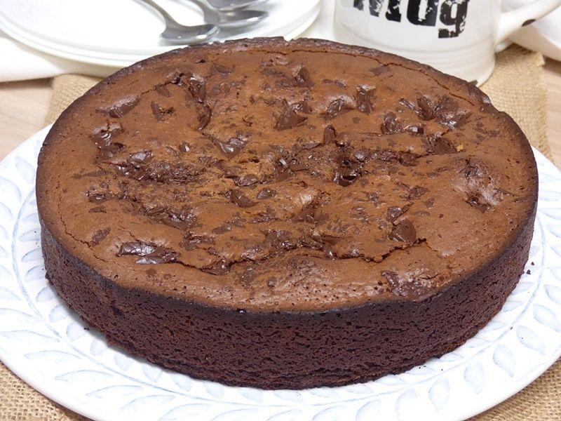 Torta de chocolate y almendra