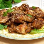 Alitas de pollo al vermut