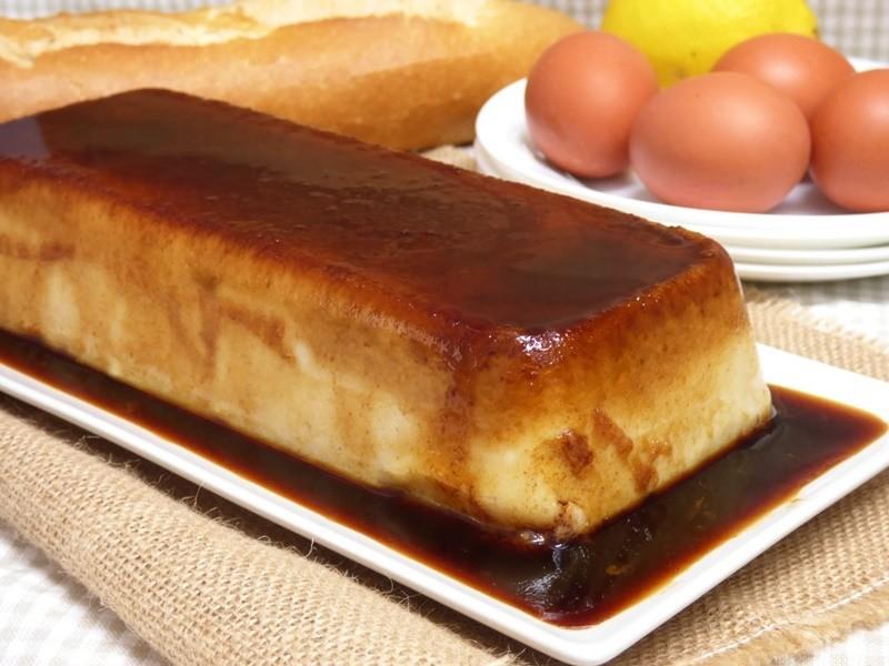 Pudin de pan fácil